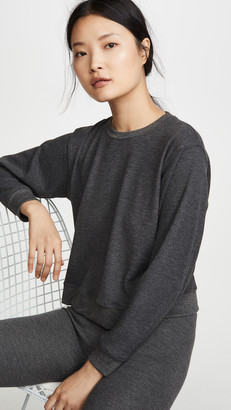 Maison du Soir Crew Neck Thermal PJ Top