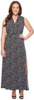 MICHAEL Michael Kors Plus Size Mini Finy Slit Maxi Dress Women's Dress