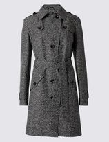 Marks and Spencer PLUS Printed Trench with StormwearTM