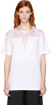 Marcelo Burlon County of Milan White Mawida T-shirt