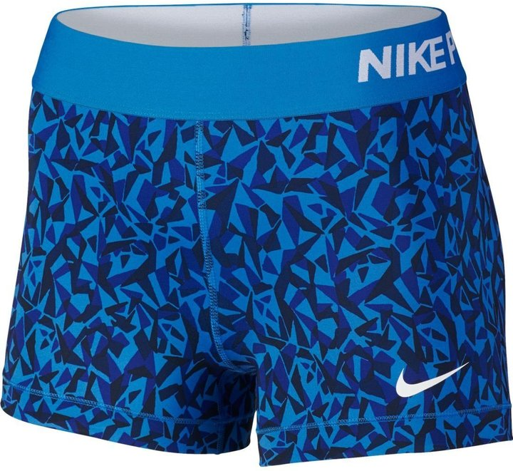 Nike Womens 3` Graphic Pro Cool Comp Short 435LTPHOTO/OMEGA S
