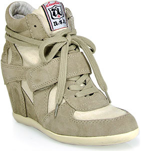 Ash Bowie Fab - Clay Suede Sneaker
