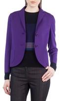 Akris Punto Women's Crop Jersey Blazer