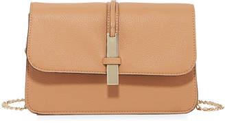 Neiman Marcus Sadie Crossbody Saddle Bag