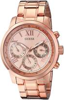 GUESS GUESS? Women's U0330L2 Rose Gold-Tone Stainless Steel Watch