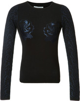 Opening Ceremony Strike Sweater with Embroidery Detail