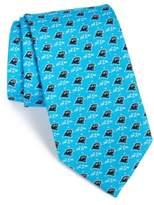 Vineyard Vines Carolina Panthers - NFL Woven Silk Tie