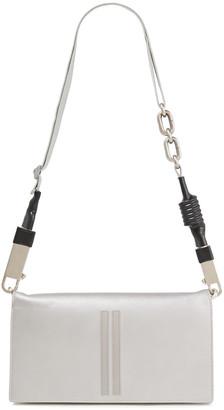 Rick Owens Metallic Leather Shoulder Bag