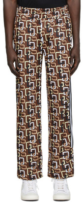 GCDS Brown 60s Lounge Pants