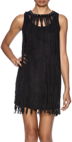Tcec Fringe Mini Dress