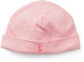 Ralph Lauren Girl Striped Cotton Hat