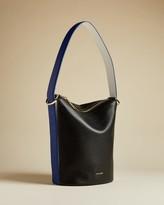 Ted Baker Leather Shoulder Bucket Bag