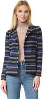 Rebecca Taylor Variegated Tweed Jacket