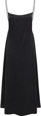 Magda Butrym Basel Open-back Silk-satin Midi Dress