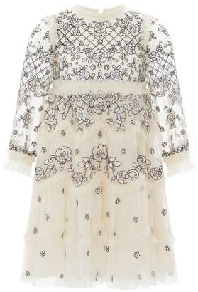Needle & Thread Marigold Long-Sleeved Dress (4-10 Years)