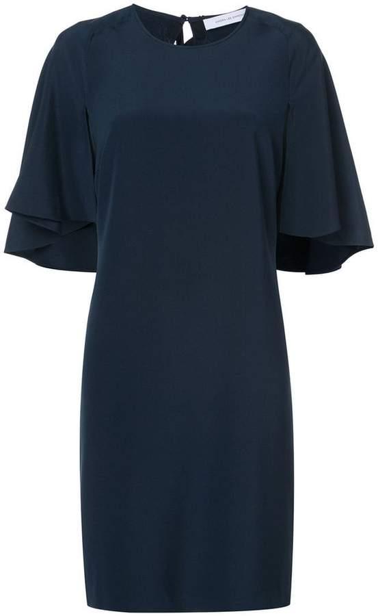 Kimora Lee Simmons cape dress