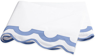 Matouk Mirasol Flat Sheet - Azure Full/queen