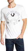 True Religion Skull Crew Neck Graphic Tee