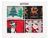 Hot Sox Holiday Socks Gift Set (4-Pack)