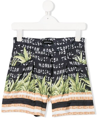 MonnaLisa Graphic Print Shorts
