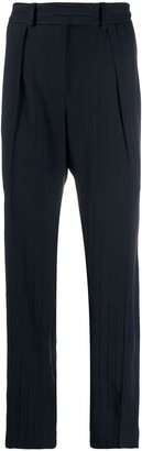 A.P.C. high waisted striped trousers