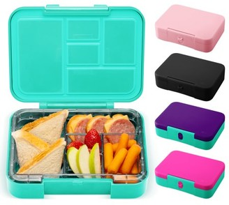 Simple Modern Porter Bento Lunch Box for Kids - Leakproof Divided Container with 5 compartments for Toddlers, Men, and Women -Oasis