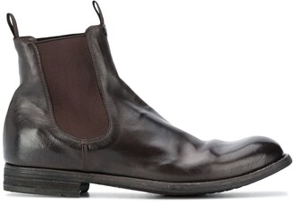 Officine Creative Journal pull-on ankle boots