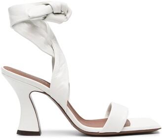 L'Autre Chose Strappy High-Heel Sandal
