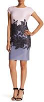 Taylor Short Sleeve Floral Scuba Dress
