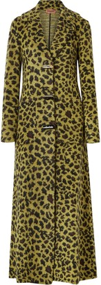 Missoni Leopard-print Knitted Coat