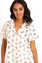 Chelsea Peers Pineapple Short Sleeve Top & Shorts Pj Set