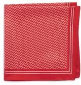 BOSS Men's Geometric Pocket Square