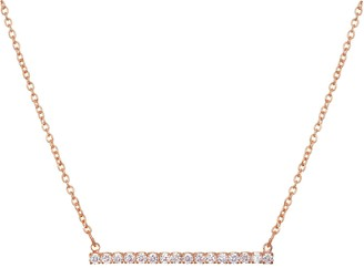 Lauren Conrad Cubic Zirconia Bar Necklace