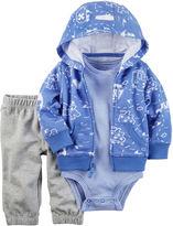 Carter's Short Sleeve Cardigan - Baby Boys
