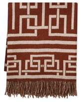 Williams-Sonoma Williams Sonoma Arion Lambswool Throw, Maroon