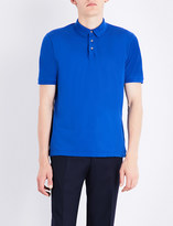 Canali Stretch-cotton polo shirt