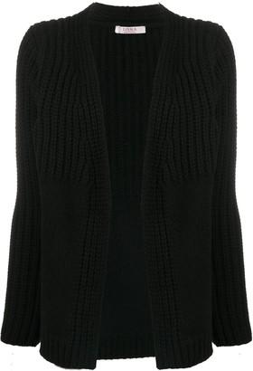 Liska Contrast Knit Cashmere Cardigan
