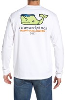 Vineyard Vines Men's Frankenstein Whale Graphic Long Sleeve T-Shirt