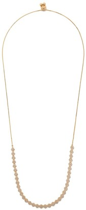As 29 18kt yellow gold Indiana flower diamond choker necklace