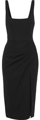 Cushnie Draped Stretch-jersey Dress