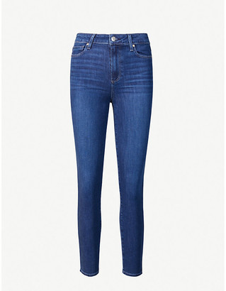 Paige Hoxton skinny high-rise jeans