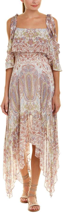 BCBGMAXAZRIA Claire Midi Dress