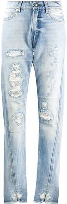 Zadig & Voltaire Fashion Show Erini high-rise jeans