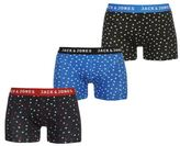 Jack and Jones Mens Fashion 3 Pack Boxers Stretch Trunks Underwear Accessories
