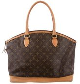 Louis Vuitton Monogram Lockit Horizontal Tote