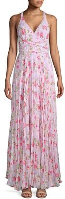Laundry by Shelli Segal Floral-Print Maxi Dress