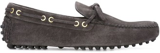 Car Shoe Textured Moccasin