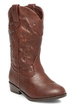 Cat & Jack Toddler Girls' Natalia Authentic Cowboy Western Boots Cat & Jack - Assorted Colors