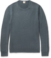 Massimo Alba - Garment-dyed Cashmere Sweater