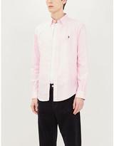 Polo Ralph Lauren Logo-embroidered slim-fit cotton shirt
